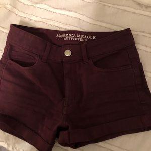 American Eagle Super Stretch Jean shorts